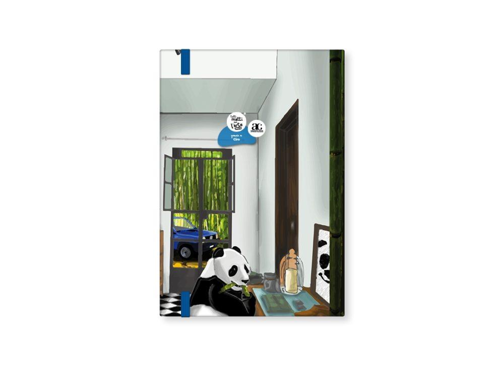 "TMA Sketchbook Medio ""Panda nella Panda"""