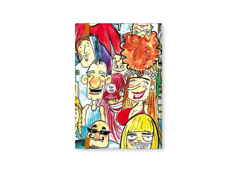 """TMA Sketchbook Medio """"Siamo Tutti Imperfetti"""""""