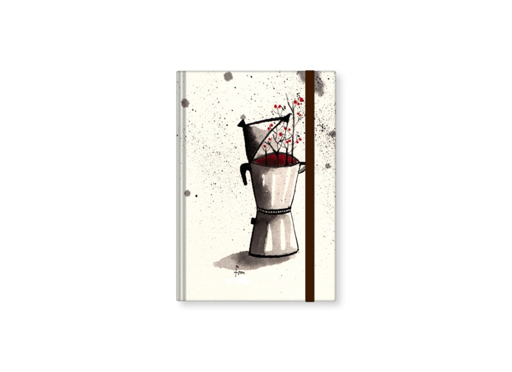 """TMA Sketchbook Piccolo """"Caffettiera"""""""