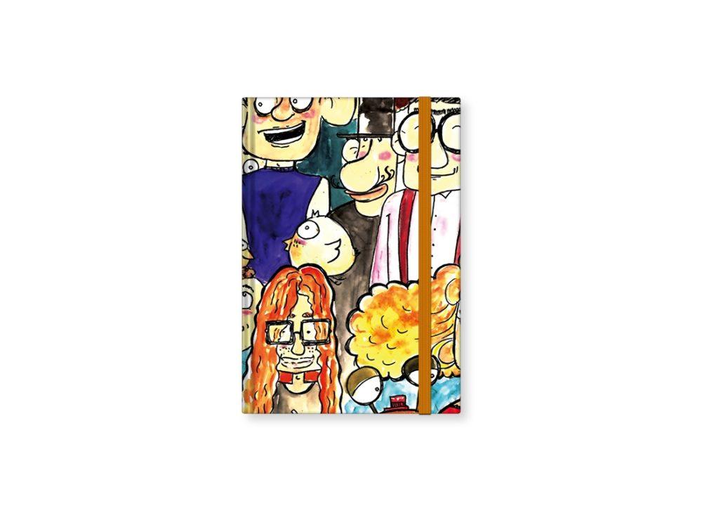 """TMA Sketchbook Piccolo """"Siamo Tutti Imperfetti"""""""