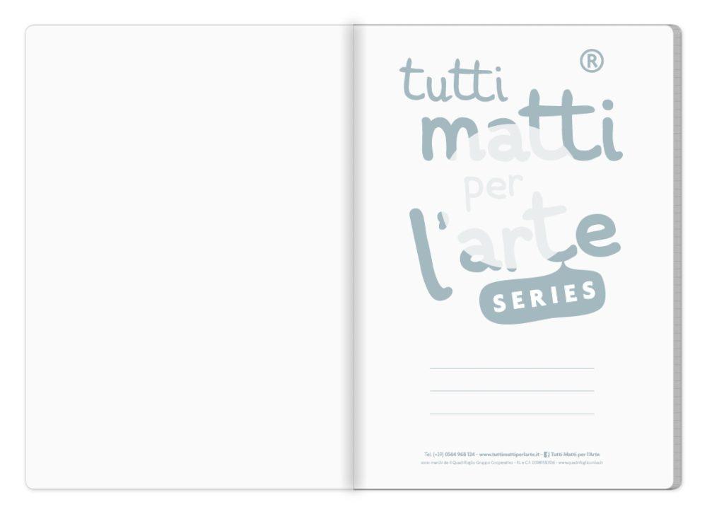 """TMA Quaderno A4 Quadretti """"Ettore"""""""