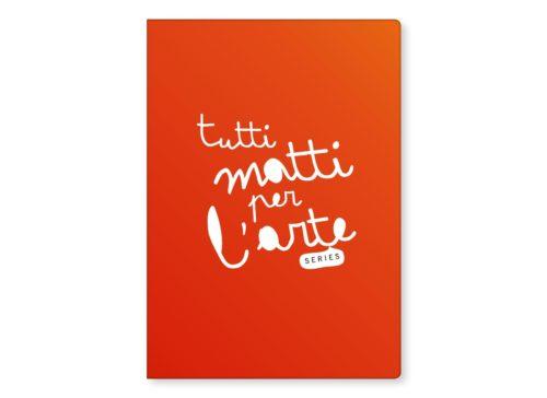 """TMA Quaderno A4 Righe """"Arancio"""""""