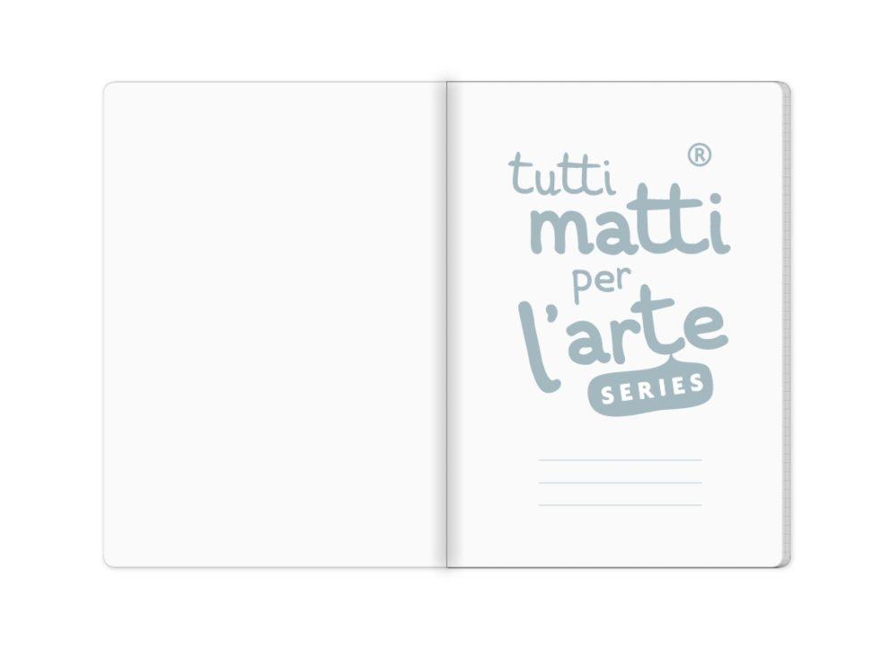 """TMA Quaderno A5 Quadretti """"Caffettiera"""""""