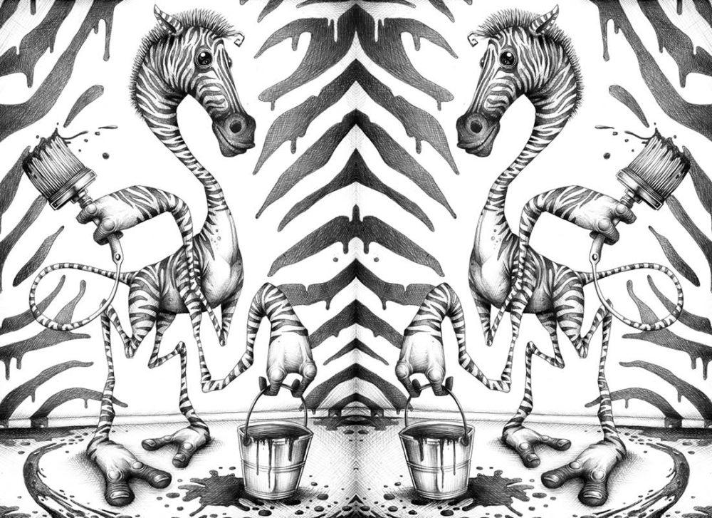 """TMA Ricettario Grande """"Zebra"""""""