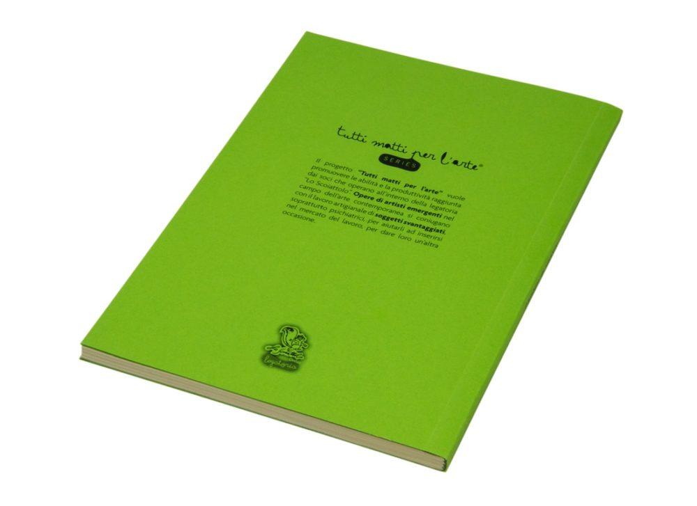 """TMA Agenda Perpetua Settimanale Grande """"TMA"""" Verde"""