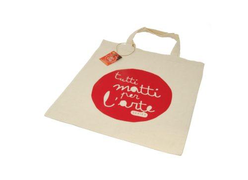 """TMA Shopper in Cotone """"TMA"""" Rosso"""
