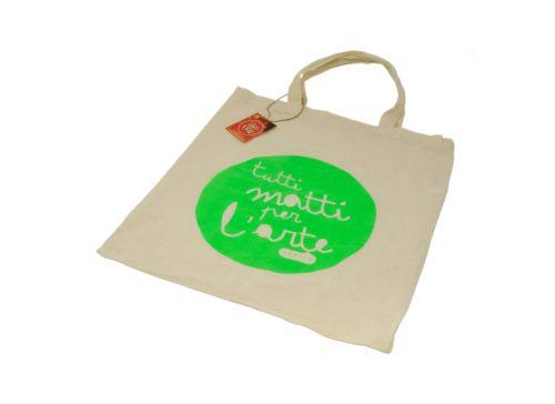 "TMA Shopper in Cotone ""TMA"" Verde"