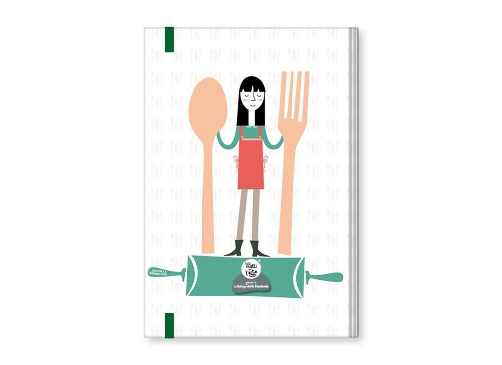 """TMA Agenda Annuale Settimanale Grande """"Cucina"""""""