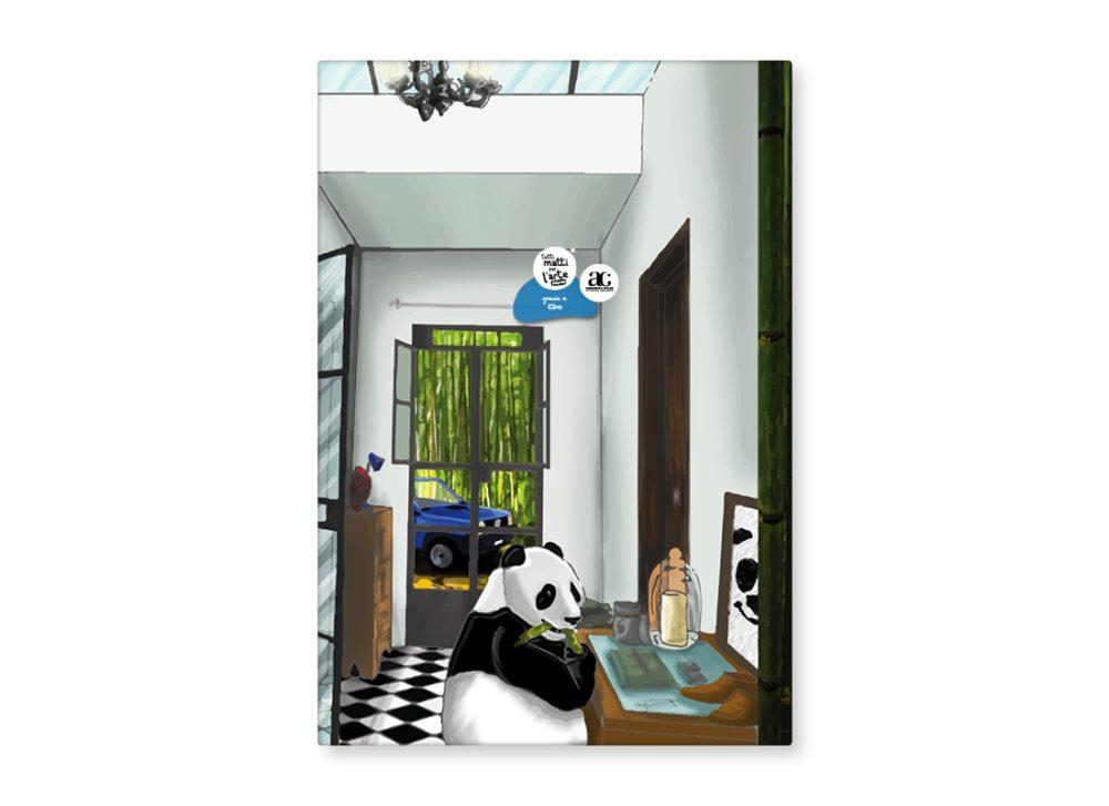 """TMA Ricettario Grande """"Panda nella Panda"""""""