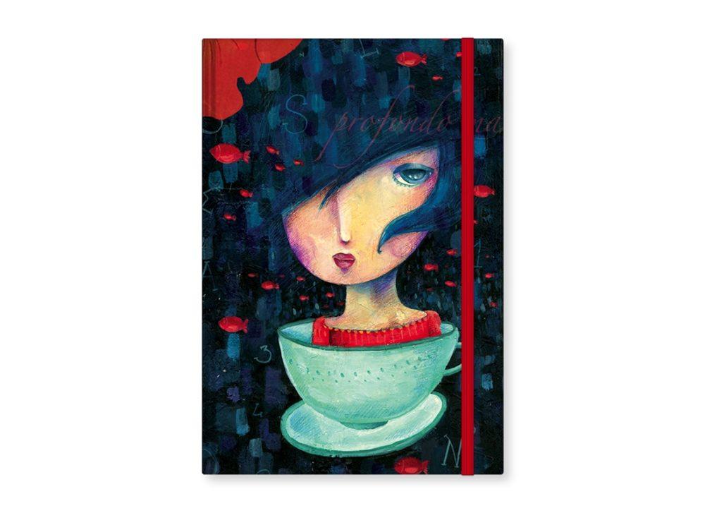 "TMA Sketchbook Grande ""Donna Tazza"""
