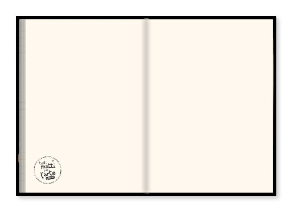 """TMA Sketchbook Grande """"Cuore Ira"""""""