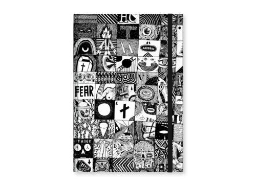 "TMA Sketchbook Grande ""Rebus"""