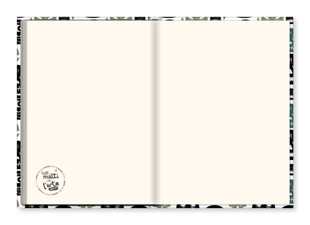 "TMA Sketchbook Grande ""Pattern Calavera"""