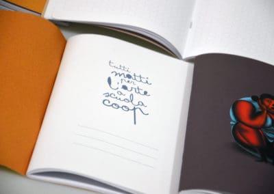 quaderno scuolacoop personalizzazione