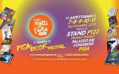 Tutti Matti per l'Arte tra i protagonisti del Pisa Book Festival